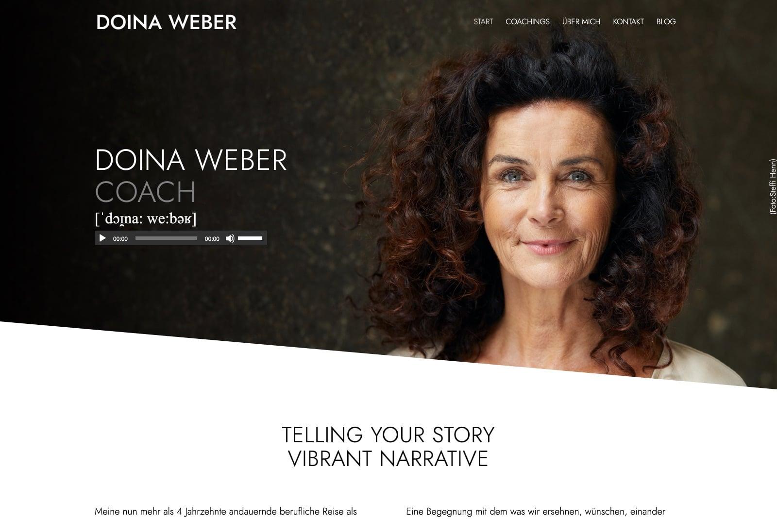 Doina Weber - Startseite