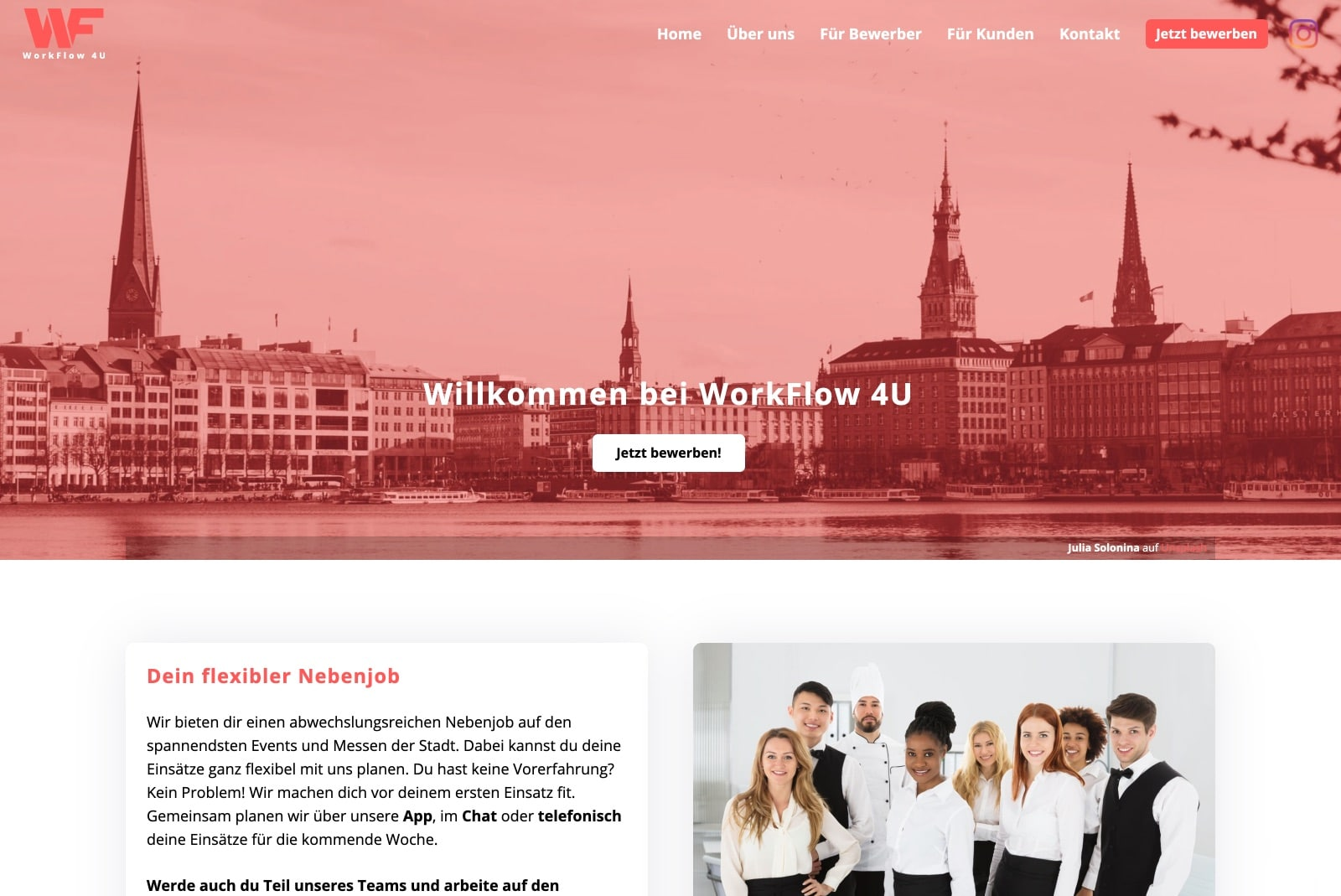 WorkFlow 4U Startseite