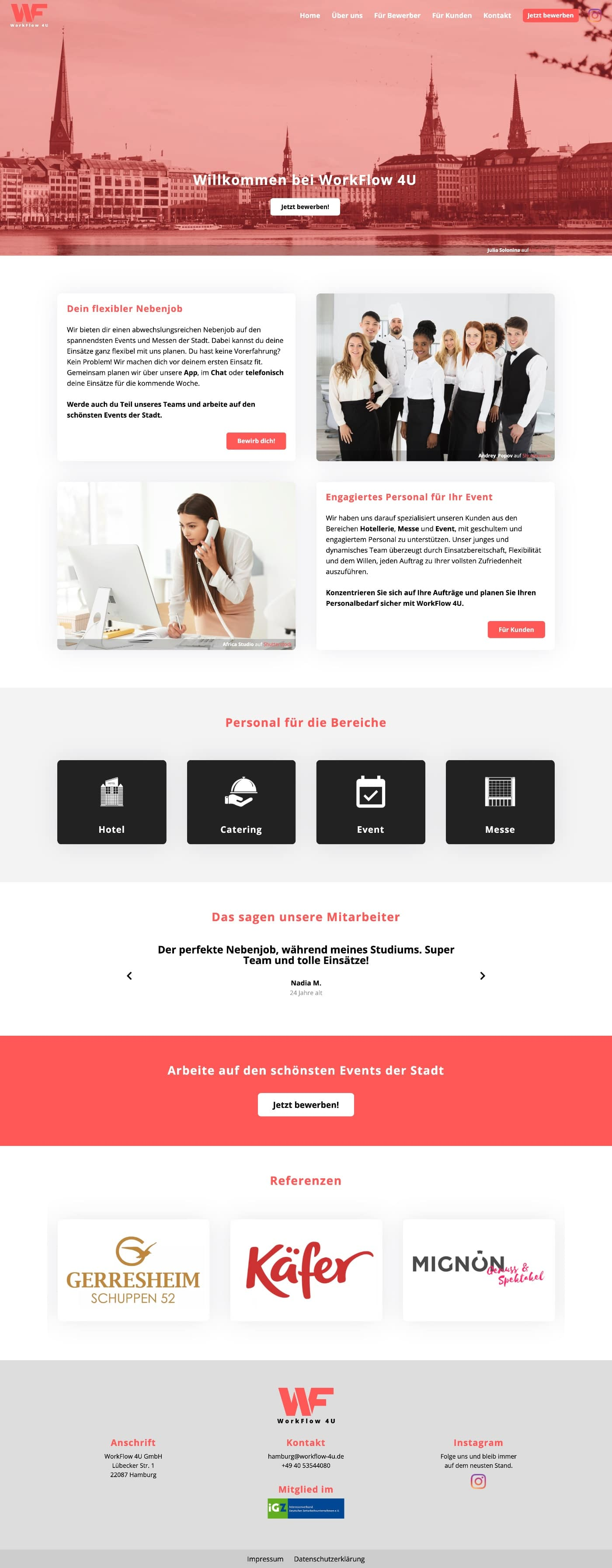 WorkFlow 4U - Website