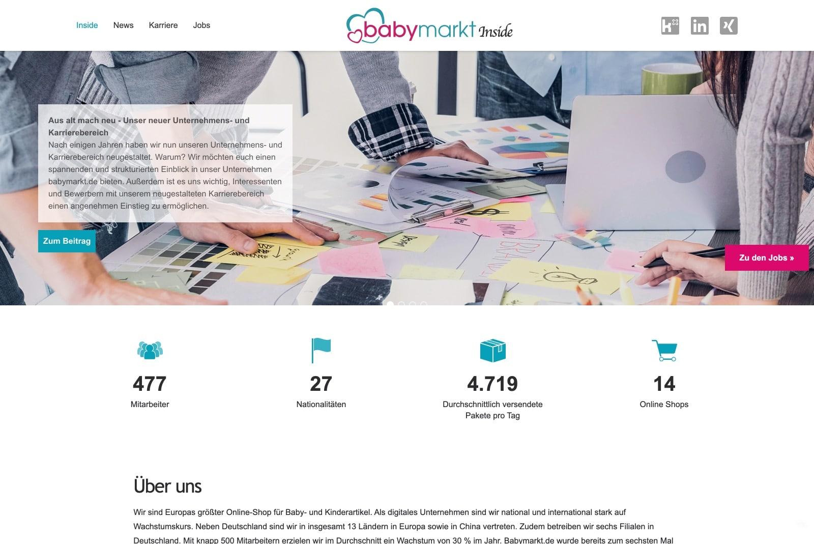 babymarkt - Startseite