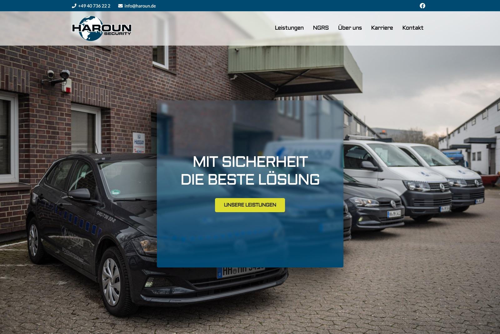 Haroun Security GmbH & Co. KG - Startseite