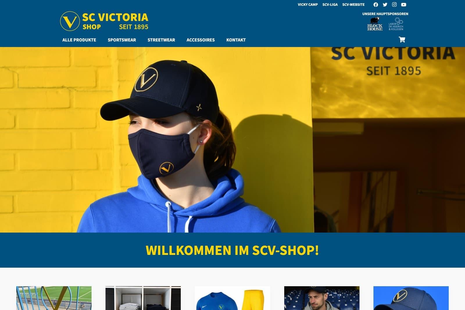 SC Victoria-Shop - Startseite