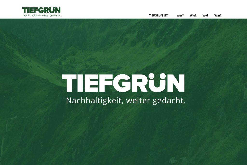 Tiefgrün-Netzwerk - Startseite