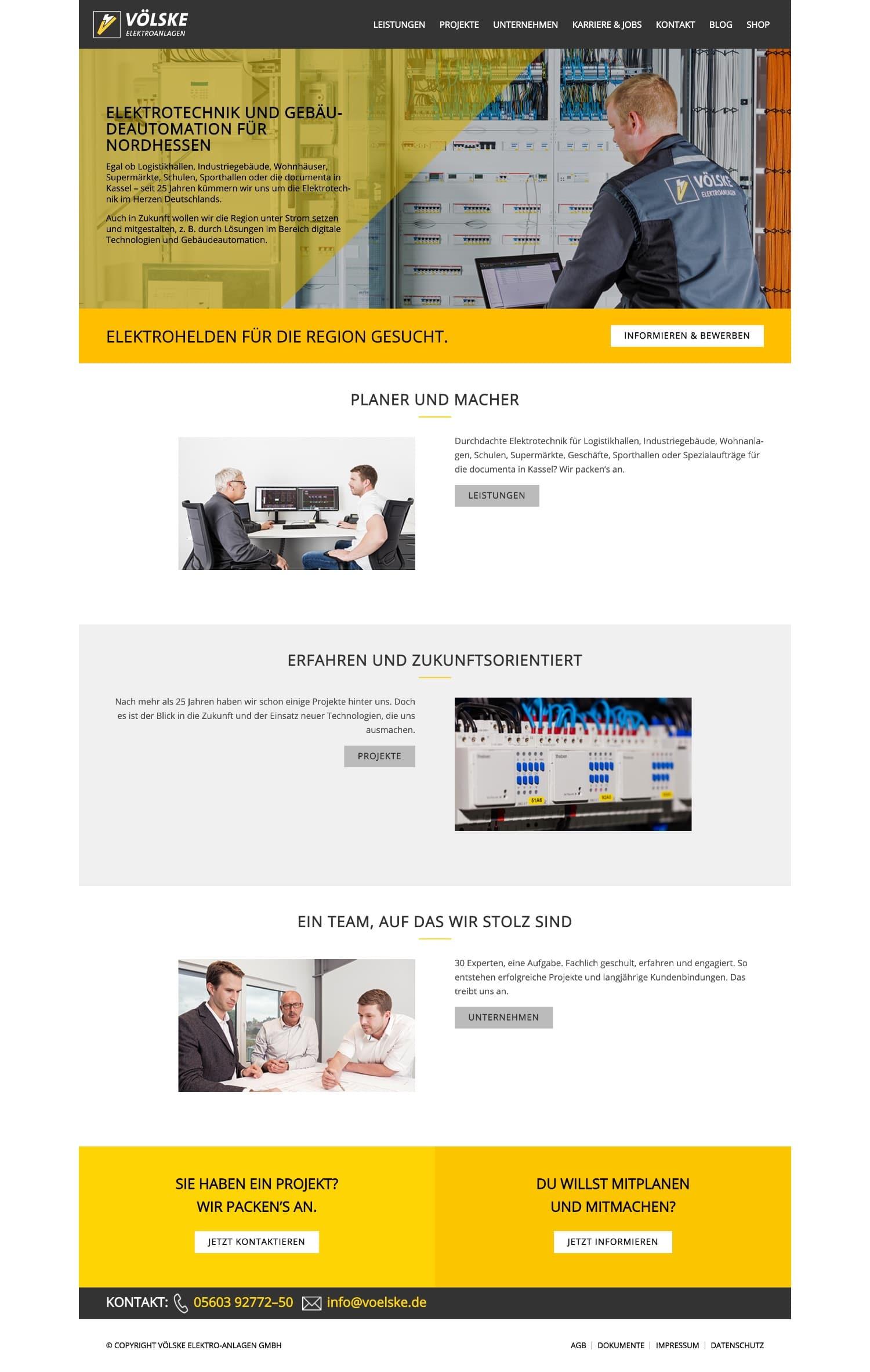Vöslke - Website