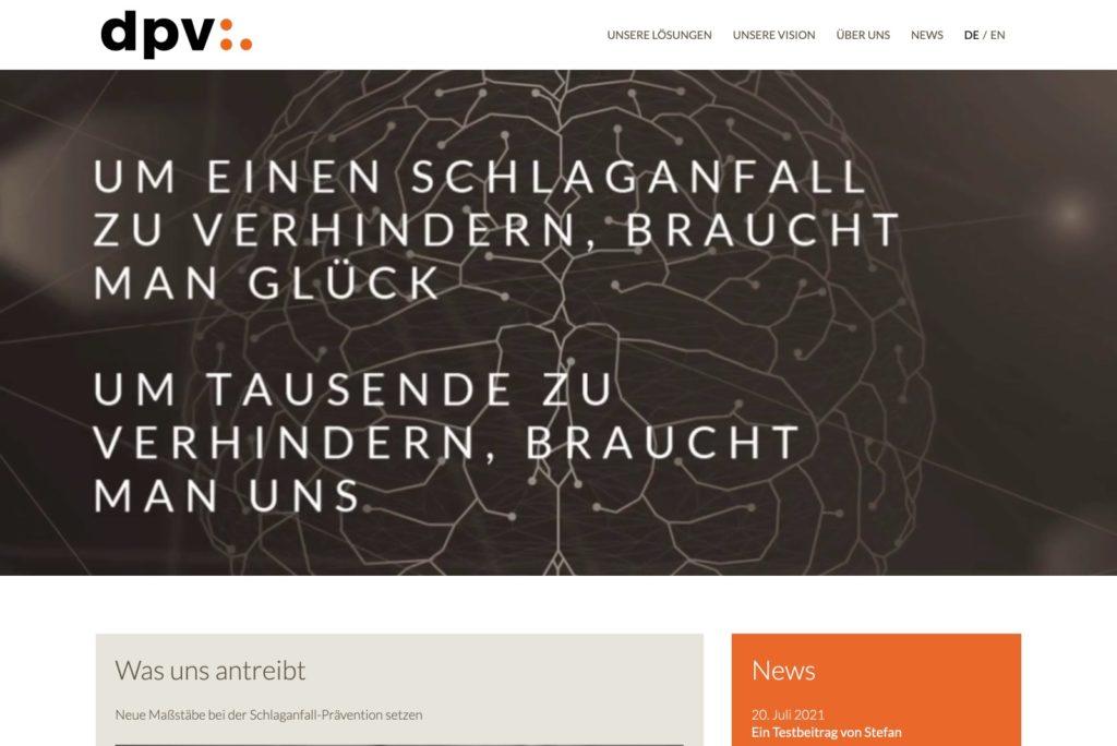 dpv analytics GmbH - Startseite