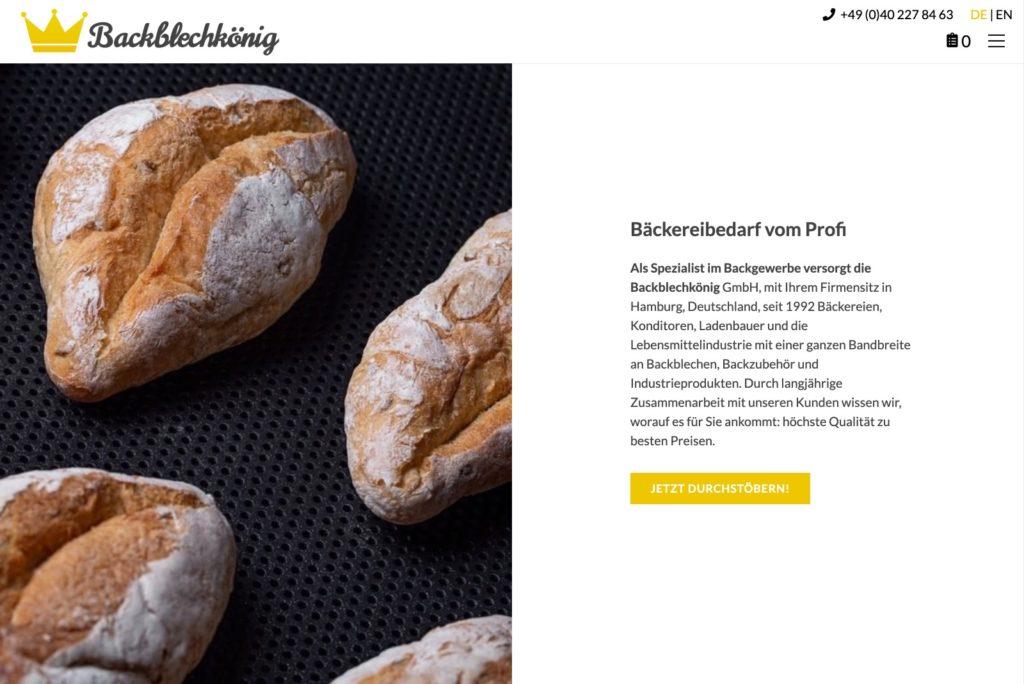 Backblechkönig - Startseite