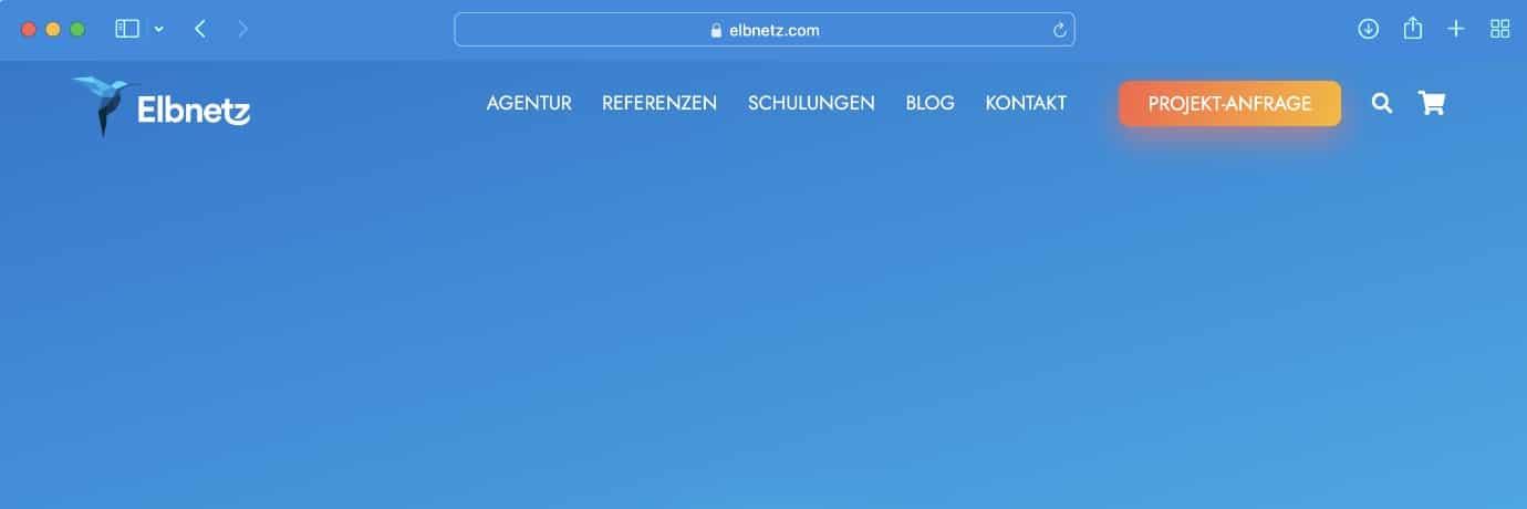 Farbe der Website in der Tab-Leiste von Safari