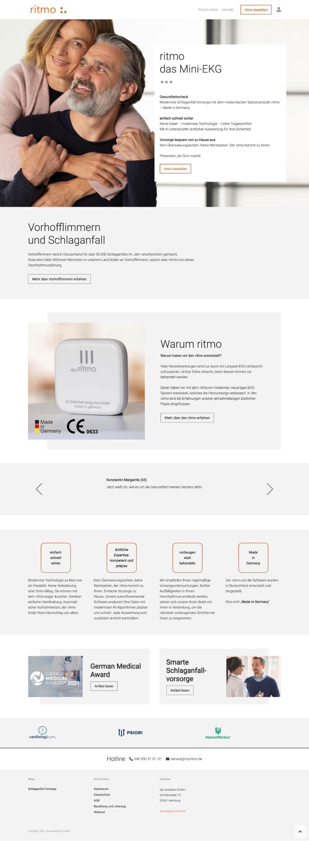 MyRitmo - Website